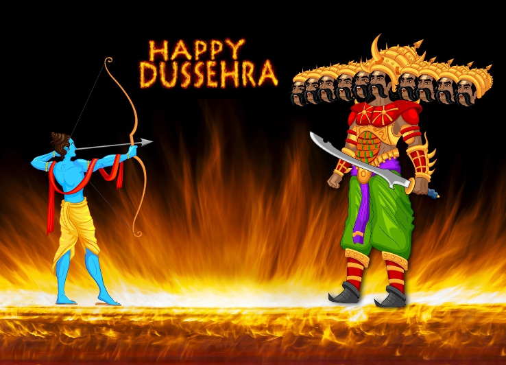 Happy dussehra images - Dussegra Wishes Status Images 2019